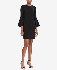 Polo Ralph Lauren Cady Bell-Sleeve Dress