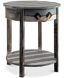 Nantucket 1-Drawer Table, Quick Ship
