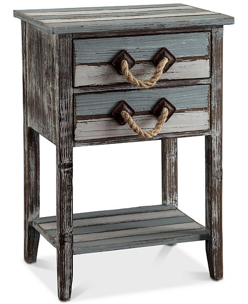Furniture Nantucket 2-Drawer Table