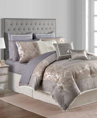 Add Ornate Fashion To Your Room With The Mason Comforter Set, Featuring  Textured Jacquard Atop A Blush Ground For Luxe Style.