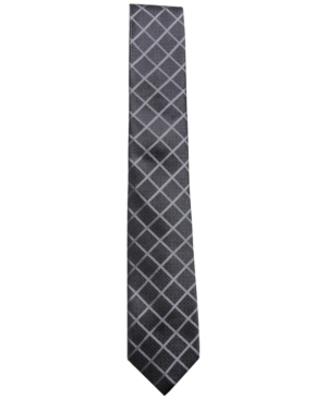 Alfani Men's Check Silk...