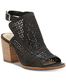 Vince Camuto Lendia Perforated Shooties, Created for Macy's