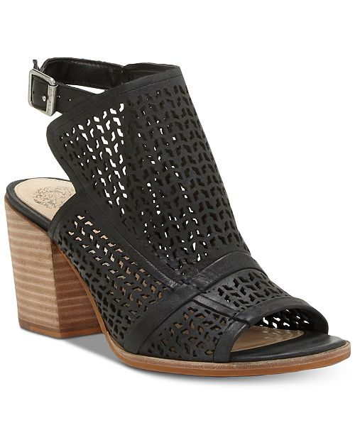 Vince Camuto Lendia Perforated Shooties, Created for Macy's Women's Shoes