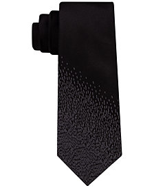 DKNY Men's Paneled Rain Slim Tie