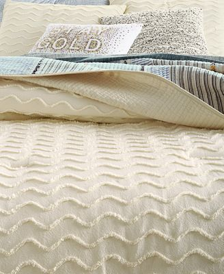 Martha Stewart Collection Chevron Chenille Comforter Sets Created