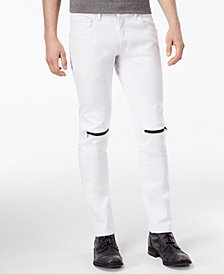 c792eefd81a Lyst Dr Denim Jeans Y Low Spray On Extreme Super Skinny White. I.N.C.  International Concepts Men s Skinny-Fit Stretch Jeans