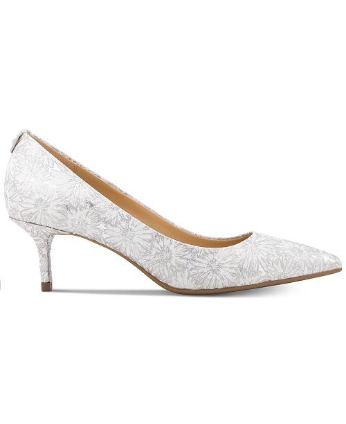 7e2c7d8a2629 Michael Kors MK Flex Kitten Heel Pumps   Reviews - Pumps - Shoes ...