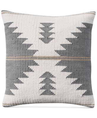 """Kilim 18"""" Square Decorative Pillow, Created for Macy's"""