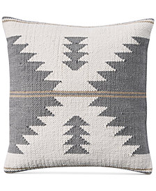 "Lucky Brand Kilim 18"" Square Decorative Pillow, Created for Macy's"
