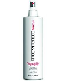 Firm Style Freeze & Shine Super Spray, 16.9-oz., from PUREBEAUTY Salon & Spa