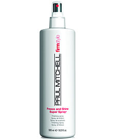 Paul Mitchell Firm Style Freeze & Shine Super Spray, 16.9-oz., from PUREBEAUTY Salon & Spa