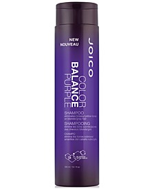Color Balance Purple Shampoo, 10.1-oz., from PUREBEAUTY Salon & Spa