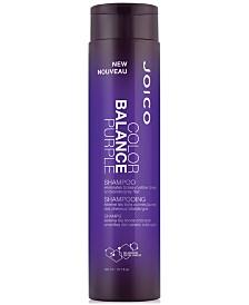 Joico Color Balance Purple Shampoo, 10.1-oz., from PUREBEAUTY Salon & Spa