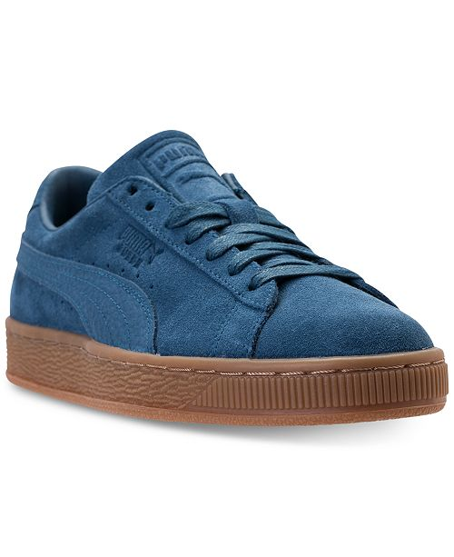 ... Puma Men s Suede Classic Natural Warmth Casual Sneakers from Finish ... 3308d521c