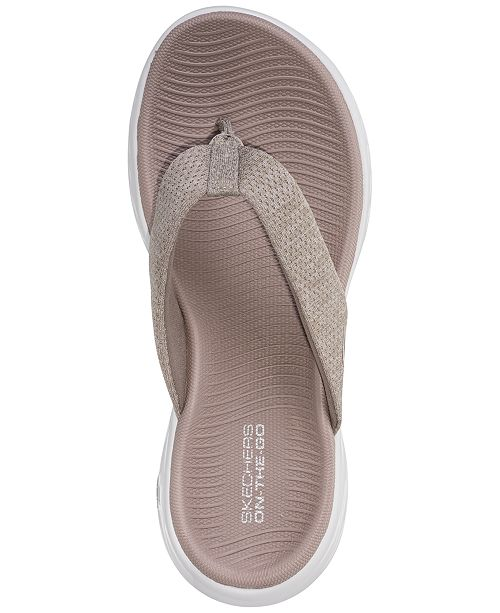 29e2b04b0498 ... Skechers Women s On The Go 600 - Preferred Athletic Thong Flip Flop  Sandals from Finish ...