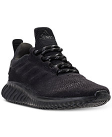 adidas Big Boys' AlphaBounce CR Running Sneakers from Finish Line