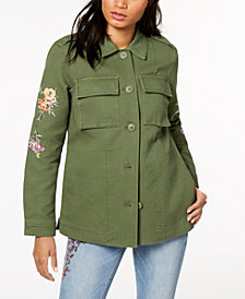 Levi's® Cotton 2-Pocket Embroidered Jacket