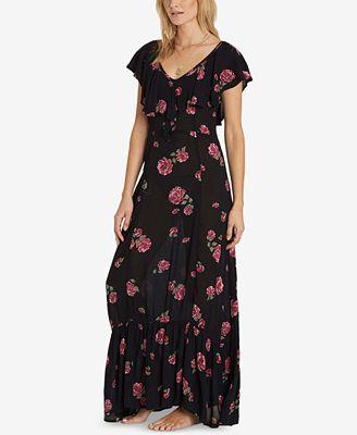Billabong Juniors' Southern Border Printed Maxi Dress