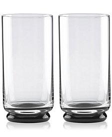 kate spade new york Charles Lane Highball Glasses, Set of 2
