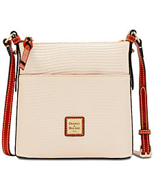 Dooney & Bourke Lizard-Embossed Small Crossbody