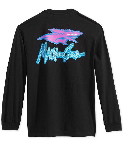 47ba7ff93 Maui and Sons Men's Shark Corp Long-Sleeve T-Shirt & Reviews - T ...