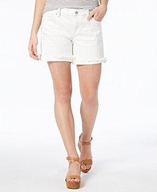 """Lucky Brand Frayed-Hem 5"""" Shorts"""