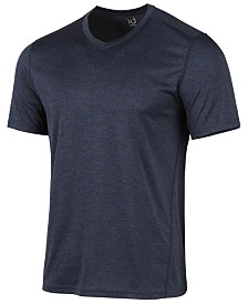 ID Ideology Men's V-Neck Mesh-Back Performance T-Shirt, Created for Macy's
