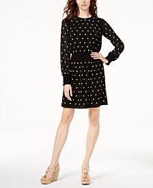 MICHAEL Michael Kors Floral-Embellished Dress