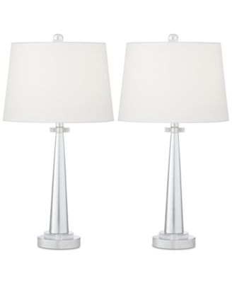 Pacific Coast Set Of 2 Contempo Table Lamps, Created For Macyu0027s