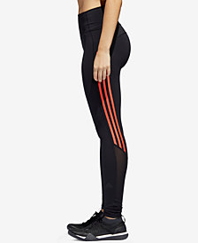 adidas Mesh-Trimmed Ankle Leggings