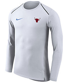 Nike Men's Chicago Bulls City Edition Shooting Shirt