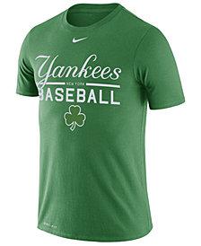 Nike Men's New York Yankees Clover Dry Practice T-Shirt