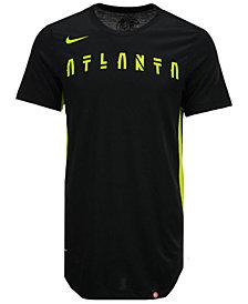 Nike Men's Atlanta Hawks Alternate Hem Short Sleeve T-Shirt