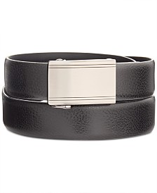 Ryan Seacrest Distinction –100% Italian Leather Men's Exact Fit Dress Belt, Created for Macy's