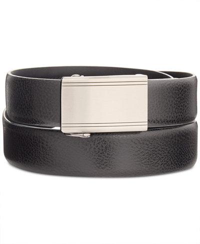 Ryan Seacrest Distinction™ Men's Exact Fit Dress Belt, Created for Macy's