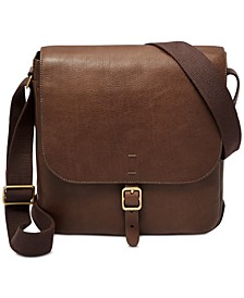 Men's Buckner Leather City Bag
