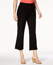 Style & Co Cropped Straight-Leg Pants, Created for Macy's