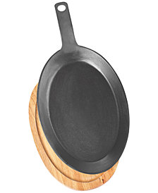 Martha Stewart Collection Fajita Pan & Base, Created for Macy's