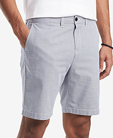 "Tommy Hilfiger Men's Stretch Stripe 9"" Shorts, Created for Macy's"