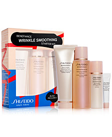 Shiseido 4-Pc. Benefiance Wrinkle Smoothing Starter Set