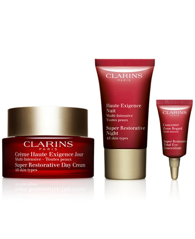 Clarins 3-Pc. Super Restorative Discovery Gift Set