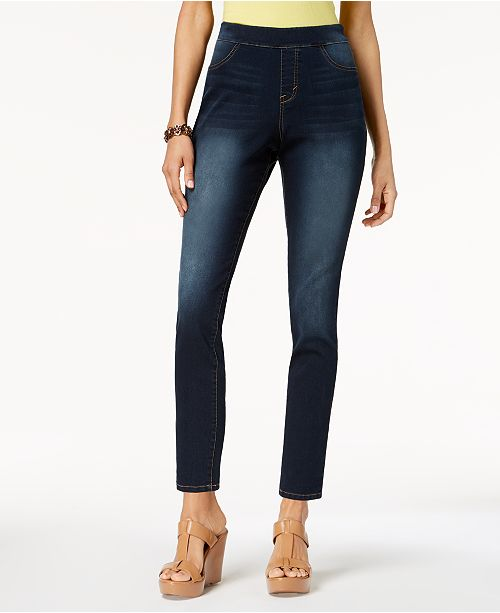 11747605e495e0 Style & Co Petite Pull-On Jeggings, Created for Macy's & Reviews ...