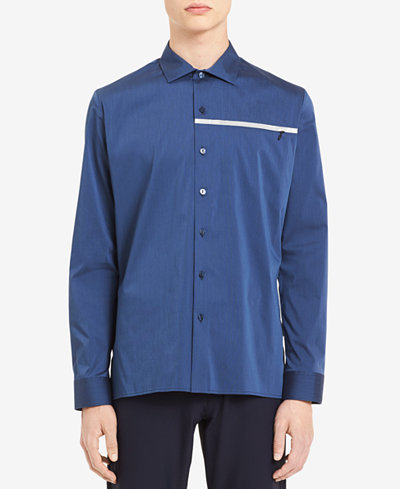 Calvin Klein Men's Micro-Stripe Shirt