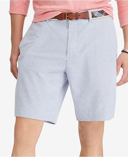 Polo Ralph Lauren Men S Seersucker Stretch Classic Fit 9 1 4