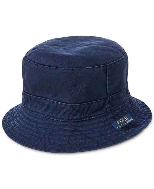 0872b68e0dd Polo Ralph Lauren Men s Reversible Bucket Hat  Polo Ralph Lauren Men s  Reversible Bucket ...