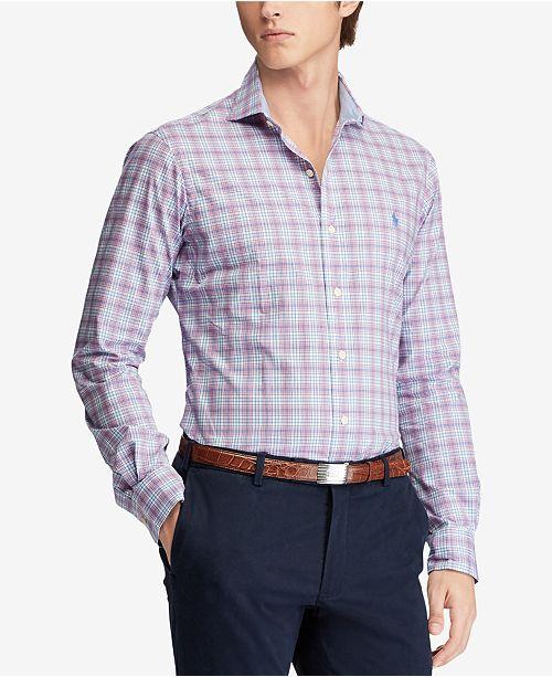 a8b9a518f9043 Polo Ralph Lauren Men s Slim Fit Floral-Print Shirt   Reviews - Casual ...