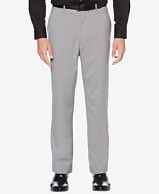 Classic-Fit No Iron Nailhead  Men's Dress Pants