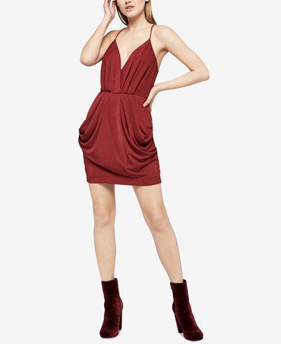 BCBGeneration Draped Stretch Jersey Dress