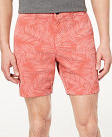 "Michael Kors Men's Classic-Fit Stretch Floral-Print 7"" Shorts"