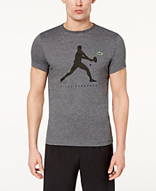 Lacoste Collection for Novak Djokovic Logo Ultra Dry Performance  T-Shirt, Created for Macy's